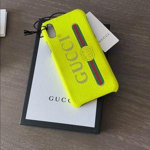 GUCCI iPhone NEON X/Xs Phone Case